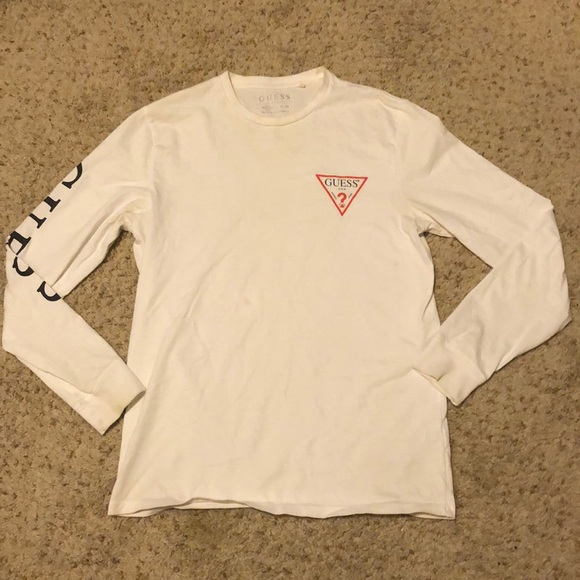 Guess Other - Used Guess White Long Sleeve Size Small